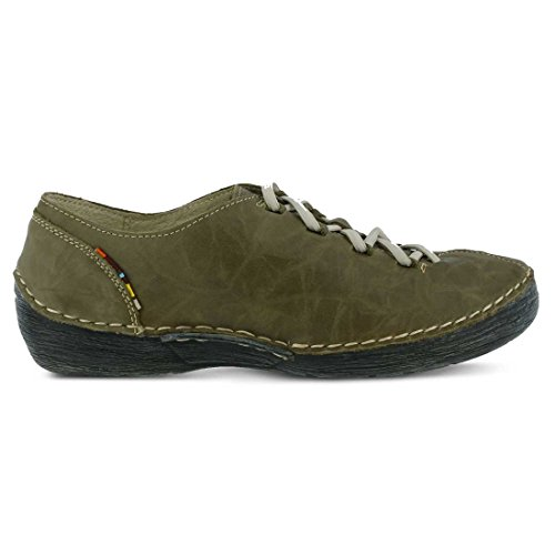 Olive Carhop Step Spring Fashion Women's Sneaker leather qa4aWBnw