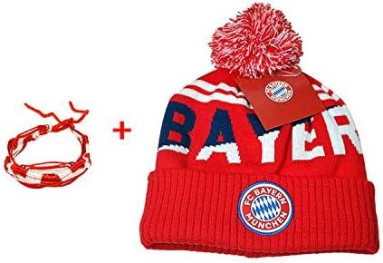 Amazon.com   FC Bayern Munich Beanie Skull Cap Hat Set 2 Items   Sports    Outdoors f05d5526ed7