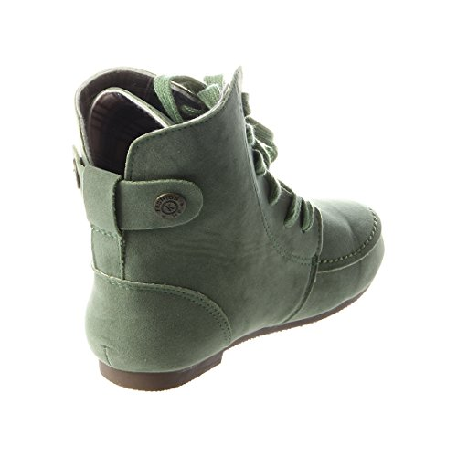 green Leather Boots R Women Autumn Boots for Suede size7 Boots Martin Snow Boots TOOGOO qvBwOB