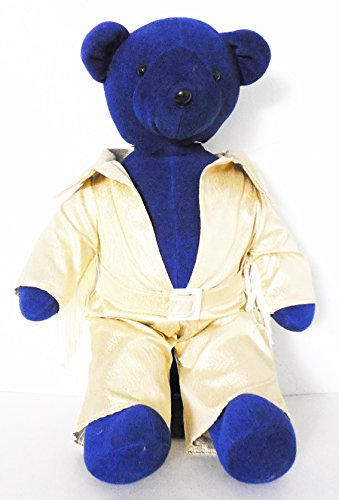 [North American Bear Co 'Elvis' Blue Teddy Bear In Gold Lame' Suit 20