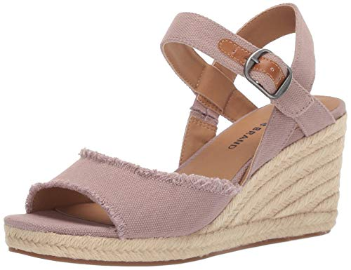 - Lucky Women's MINDRA Espadrille Wedge Sandal, Dove, 8.5 M US