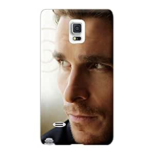 Perfect Hard Cell-phone Case For Samsung Galaxy Note 4 (MIU24051jRUr) Customized Fashion Celebrities Christian Bale Series