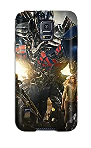 Hot Transformers: Age Of Extinction First Grade Tpu Phone Case For Galaxy S5 Case Cover