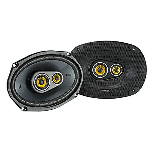 Kicker 46CSC6934 Car Audio 6x9 3-Way Full Range Stereo Speakers Pair -
