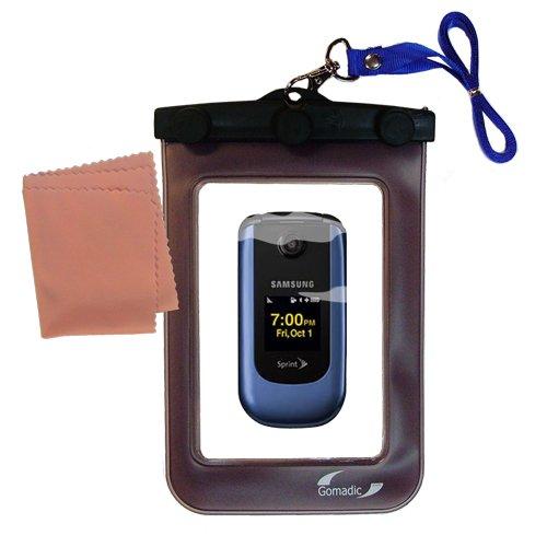 Gomadicアウトドア防水携帯ケースSuitable for the Samsung m360 / sph-m360に使用Underwater – keepsデバイスClean and Dry   B004C9GONM