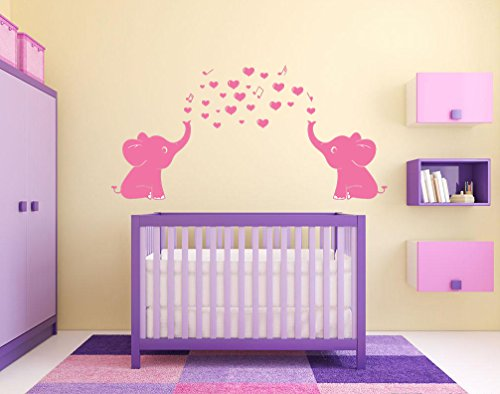 The Best Pink Elephant Wall Decor For Nursery