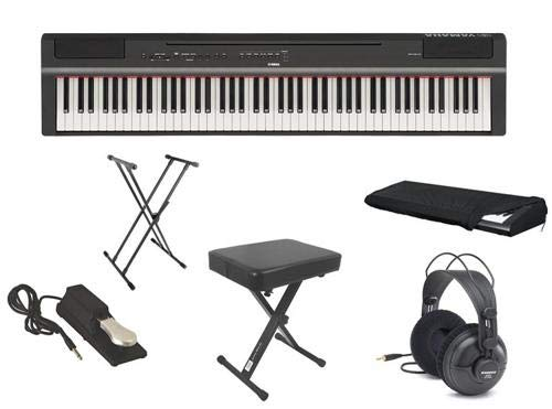 Yamaha P-125 Ultra Deluxe Piano Pack with Headphones, for sale  Delivered anywhere in USA