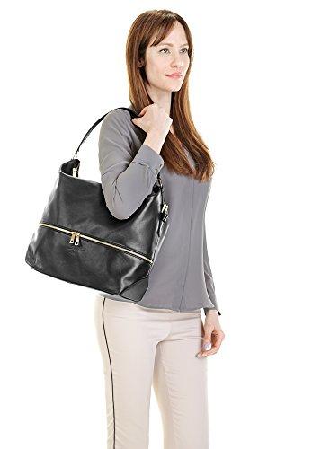 Leder Look Sac Femme Samantha Shopping Echt Hobo YAnw10H