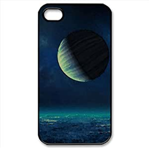 Moons Watercolor style Cover iPhone 4 and 4S Case