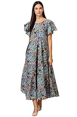 KLOOK Women's A-Line Maxi Dress