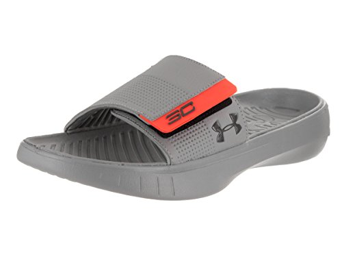 order cheap online amazing price online Under Armour Mens UA Curry III Slide Charcoal/Steel/Bolt Orange brand new unisex UZylu4Lm7