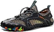 KOYODA Tênis de caminhada masculino antiderrapante para trilha, escalada, caminhada, caminhada, para atividade