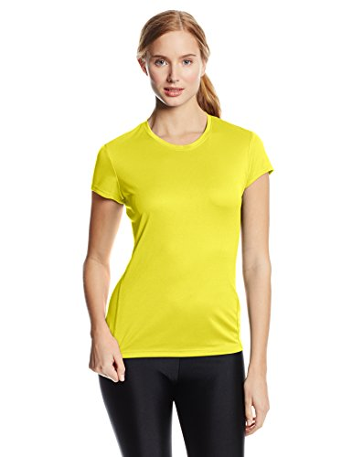 Asics Women's Core Short Sleeve Top, Electric Lime, (Asics Core Running Short)
