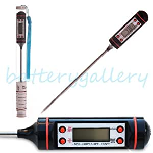 Digital Cooking Food Probe Meat Kitchen BBQ Selectable Thermometer