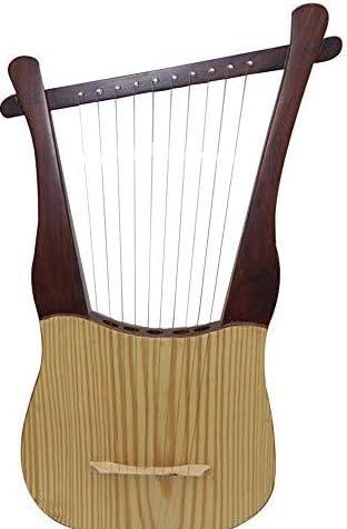 Kit de arpa tradicional de 10 cuerdas con llave de afinación y ...