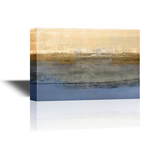 Abstract Landscape with Yellow and Blue Color Gallery