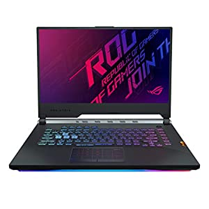 ASUS ROG Strix Scar III G531GU 15.6″ FHD 144Hz Gaming Laptop GTX 1660 Ti 6GB Graphics (Core i7-9750H 9th Gen/8GB RAM/512GB PCIe SSD/Windows 10/Scar Gunmetal/2.57 Kg), G531GU-ES108T