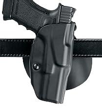 Safariland 6378 ALS, Paddle & Belt Slide Holster, Glock 20, 21, Plain Black, Left Hand