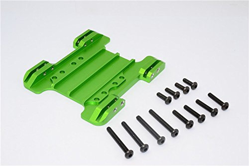 Gmade Crawler R1 Rock Buggy Upgrade Parts Aluminum Center Skid Plate - 1Pc Set ()