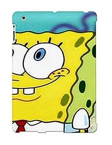 Fashion Tpu Case For Ipad 2/3/4- Spongebob Quarepant Pictures Defender Case Cover