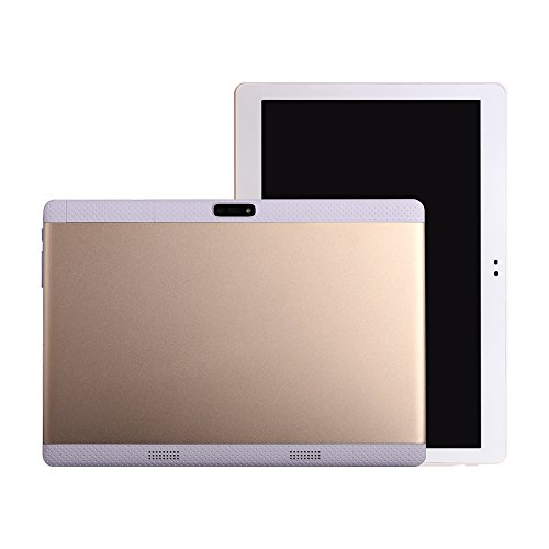 Gold 10 inch Tablet PC Octa Core MTK android 6.0 8 core 4G LTE Phone Call Dual Sim Camera 4GB 64GB 2560*1600 IPS GPS…