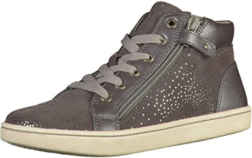 Kickers 572060-30 Mädchen Sneakers Grau
