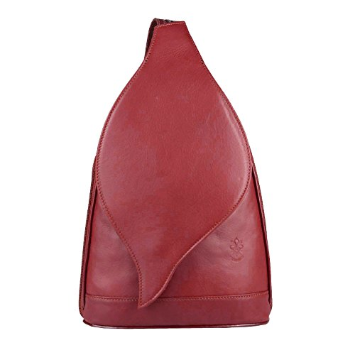 Obc Only-beautiful-couture - Bolso Mochila Para Mujer Rojo Red 17x28x9 In 3 Sizes To Choose From Red 17x28x9