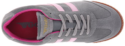 Gola Vrouwen Cla192 Kiekendief Mode Sneaker Grijs / Roze / Fuchsia