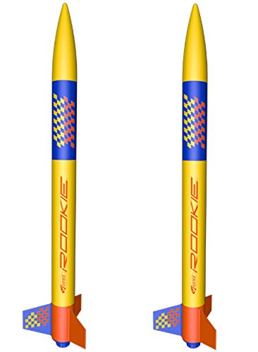 (2 pack) Estes Rookie model rocket
