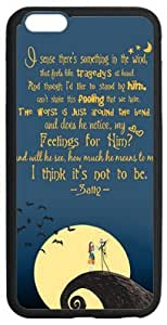 Custom Cartoon The Nightmare Before Christmas Quotes Case Cover for Iphone 5S/5