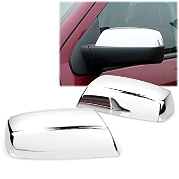 Exterior Parts & Accessories Chrome Top Half Mirror Cover Fits 2014-2018 Chevrolet Suburban