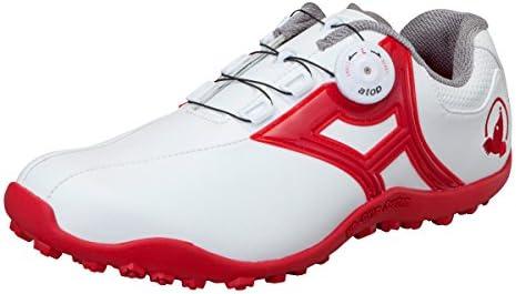 HONMA ゴルフ シューズ SR-1604 25.5cm ホワイト レッド
