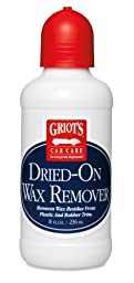 Griot\'s Garage 11036 Dried-On Wax Remover - 8 oz.