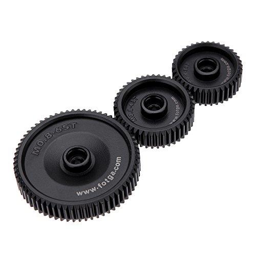 Andoer Standard 38T 43T 65T 0.8 Mod Pitch Gear Set for DP500II S 2S DP3000 Follow Focus