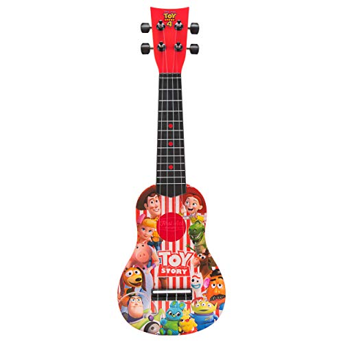 First Act Discovery Toy Story 4 Ukulele, Red (Story Toy Guitar)