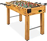 """Best Choice Products T&R Sports 48""""/60"""" Soccer Foosball Table Heavy Duty for Pub Game Room with"""