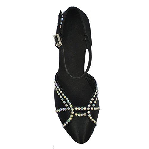 Jig Foo Chaussures de Pompes Dance pour Femme