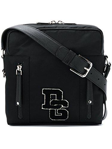 Dolce E Gabbana Men's Bm1513an4618b956 Black Polyamide Messenger - And Black Bag Dolce Gabbana