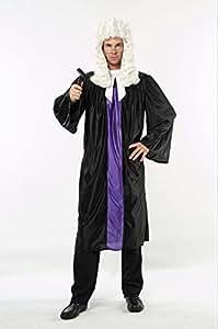 Bristol Novelties - Disfraz de juez adultos (AC223)