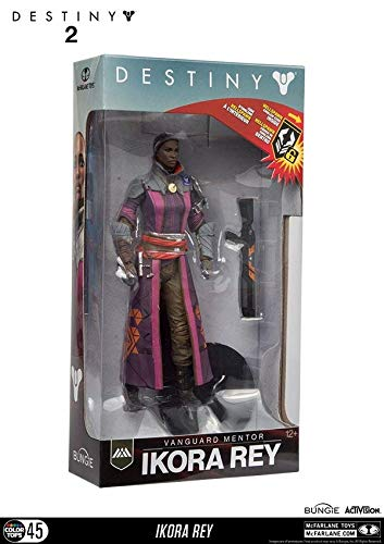 - McFarlane Toys 13045-4 Destiny 2 Ikora Rey Collectible Action Figure