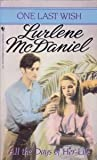 All the Days of Her Life, Lurlene McDaniel, 0553541536