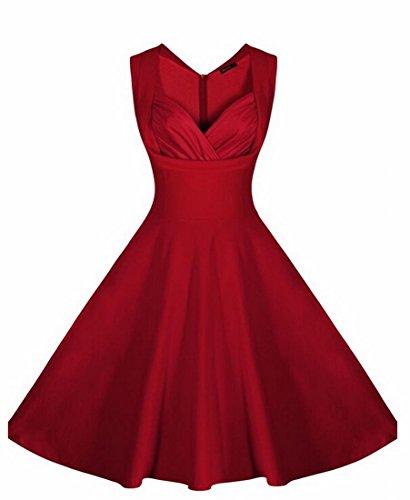 50s strapless dress - 7