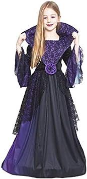 Disfraz Vampiresa Lila Flor para Niña Halloween (4-6 años) (+Tallas)