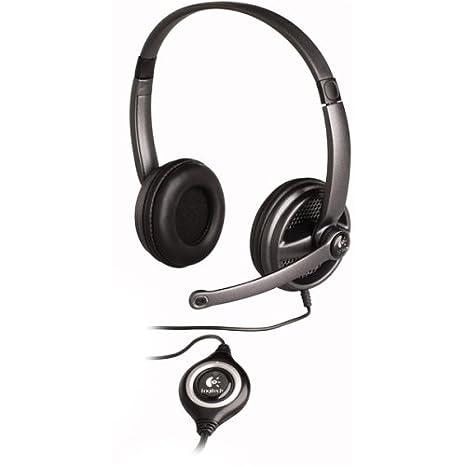 Logitech Premium USB Headset 350 (980374-0403) PC Headsets at amazon