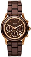 DKNY Chronograph Rose Gold Brown Dial Women's Watch NY8430 by DKNY