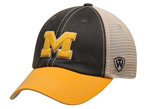 44ceb9b5c7a Top of the World NCAA Michigan Wolverines Off Road Adjustable Cap