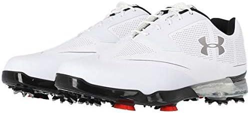 [アンダーアーマー] UA TOUR TIPS X-WIDE 1299227 スパイク ゴルフシューズ 日本モデル White/White(102)