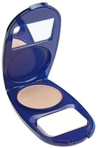 CoverGirl Smoothers AquaSmooth Compact Foundation, Creamy Natural [720] 0.40 oz (Pack of 3)
