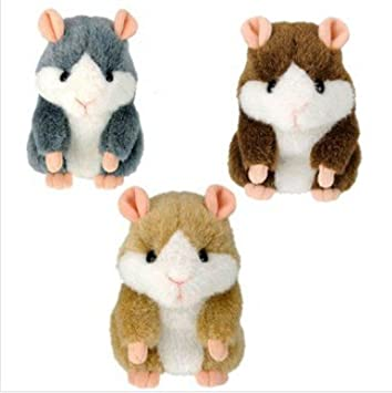 Amazon.com: Talking Hamster Juguetes Repetir Ruso Inglés y ...
