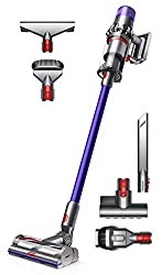 Powerful Cleaning on Floors and Carpets - An integrated digital motor spins the brush bar up to 60 times a second. It drives stiff nylon bristles deep into carpet to remove dirt, and carbon fiber filaments capture fine dust on hard floors. LED Screen...